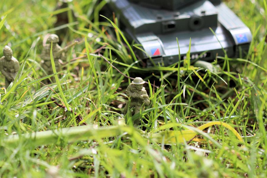 Mini Toy Soldier Action Figure