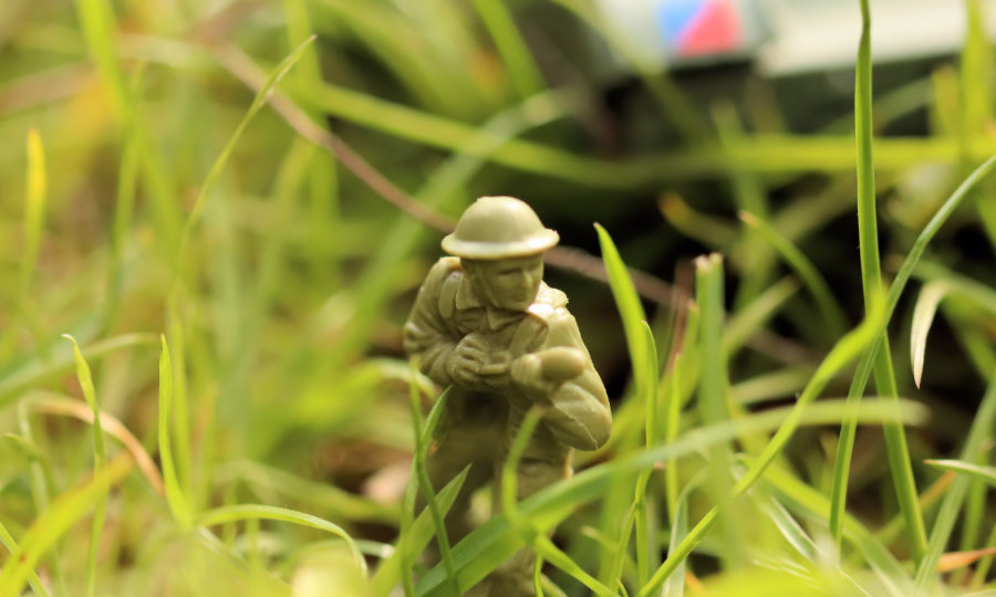 Mini Toy Soldier Action Figure